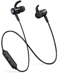 Taotronics wireless stereo earphones black