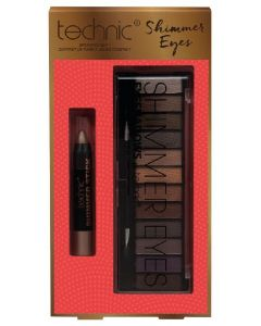 Technic make-up collection shimmer eyes