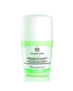 The body shop aloe caring roll-on deodorant 50ml