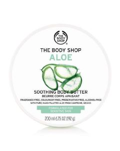 The body shop aloe soothing body butter 200ml