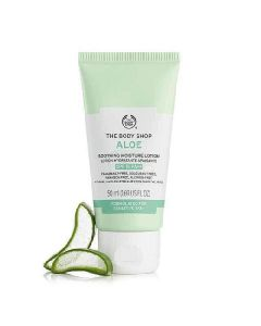 The body shop aloe soothing moisture lotion SPF15 50ml
