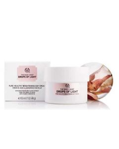 The body shop drops of light pure healthy brightening day cream 50ml