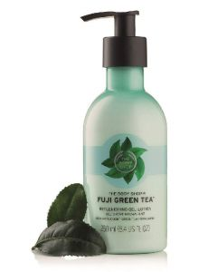 The body shop fuji green tea replenishing gel-lotion 250ml