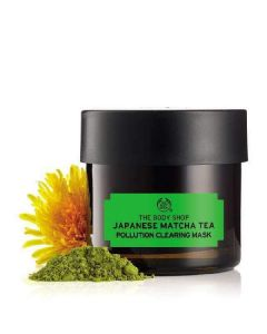 The body shop japanese matcha tea pollution clearing mask 75ml