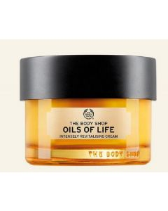 The body shop oils of life intensely revitalising cream 50ml (minus æske)