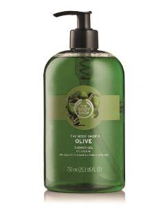 The body shop olive shower gel 750ml