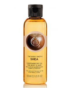 The body shop shea nourishing dry oil for body & hair 100ml