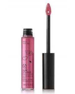 The body shop shine lip liquid peach twist 106 7ml