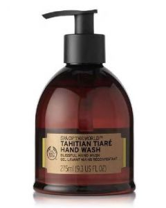 The body shop spa of the world tahitian tiaré hand wash 275ml