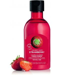 The body shop strawberry clearly glossing conditioner 250ml