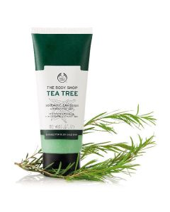 The body shop tea tree squeaky clean scrub 100ml