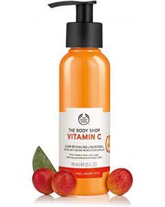 The body shop vitamin c glow-revealing liquid peel 145ml
