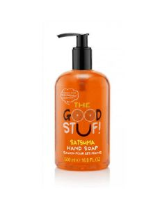 The good stuf satsuma hand soap 500ml