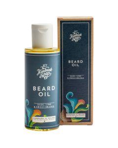 The handmade soap beard oil basil lime & sweet orange 100ml
