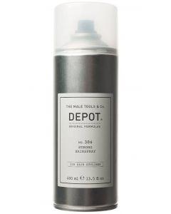 The male tools & co. Depot original formulas no. 306 strong hairspray 400ml