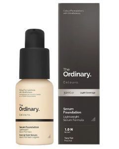 The ordinary colours serum foundation SPF15 1.0 N serum 30ml