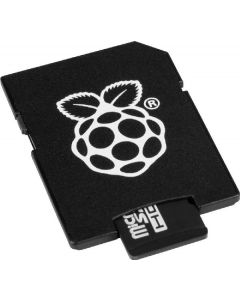 The pihut micro SD card raspberry pi_16gb_DS black