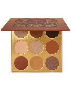 The warrior by juvia's eyeshadow palette the amazons