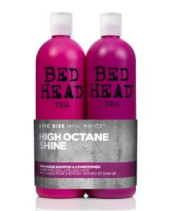 Tigi bed head high octane shine recharge shampoo & conditioner 2x750ml