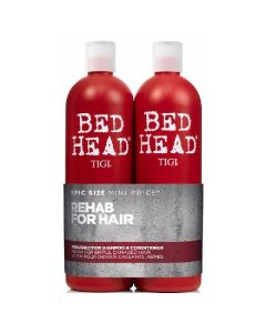 Tigi bed head rehab for hair resurrection shampoo & conditioner 2 x 750ml
