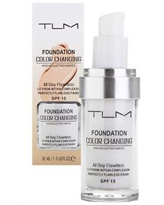 TLM foundation color changing perfectly flawless finish SPF15 30ml