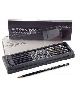 Tombow mono 100 pencil HB black 12 stk.
