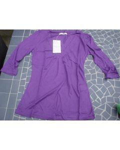 Bluse fra Logo Femme til Piger i Lilla (Large)