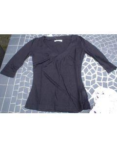Bluse fra Logo Femme til Piger i Sort (Large)