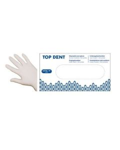 Engangshandsker Top Dent nitril PF hvide 90stk str XL