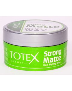 Totex strong matte hair styling wax 150ml