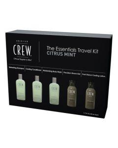 American Crew The Essentials Travel Kit Citrus mint