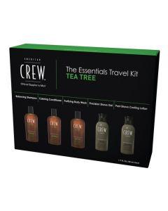 American Crew The Essentials Travel Kit Tea tree