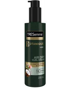 Tresemmé botanique air dry curl cream with cactus water & coconut 200ml