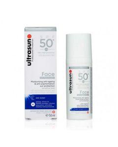 Ultrasun face moisturising anti-ageing & anti-pigmentation sun protection SPF50+ 50ml