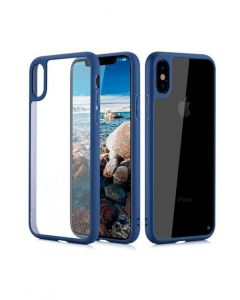 Usams mobile phone case for iphone x navy blue