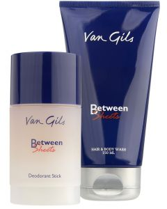 Van gils between sheets gavesæt - hair and body wash 150ml + deodorant stick 75ml