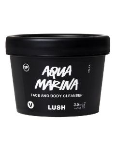 Vegan lush aqua marina face & body cleanser 100g