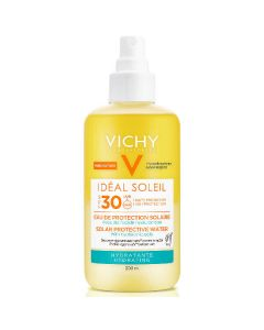 Vichy idéal soleil solar protection water SPF30 hydrating 200ml