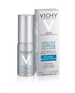 Vichy liftactiv supreme eyes & lashes illuminating eye serum 15ml