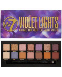 W7 violet lights neutrals gone wild eye colour palette 14g