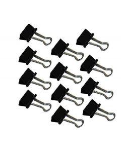 Wedo foldback-clips 19mm 12 stk. black