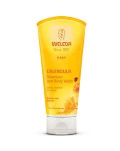 Weleda baby calendula shampoo and body wash 200ml
