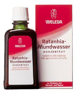 Weleda ratanhia-mundwasser 50ml