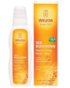 Weleda sea buckthorn replenishing body lotion dry skin 200ml