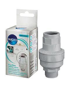 Wpro universal overflow safety valve wasserstop ventil