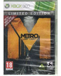 Xbox 360 spil Metro Last Light