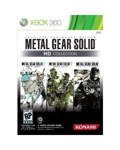 Xbox 360 Spil Metal Gear Solid - HD Collection