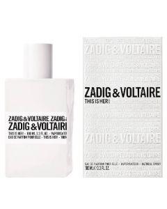 Zadig & voltaire eau de parfum this is her 100ml