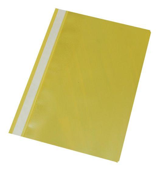 Tilbudsmapper Q Line A4 uden lomme ks. á 25 stk gul