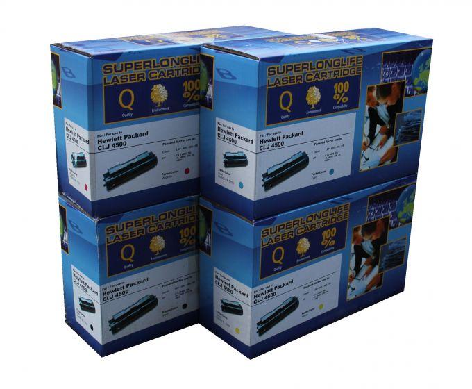 Compatible HP C4191A - C4194A sæt af 4 stk